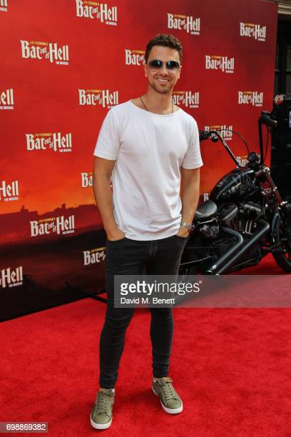 Richard Fleeshman attends the press night performance of 'Bat Out Of Hell The Musical' at The London Coliseum on June 20 2017 in London England