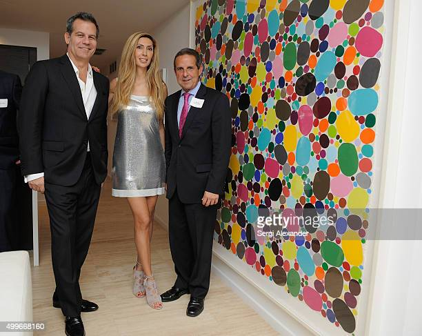 Richard Florida Rana Florida and Mayor Manny Diaz attend Governor Martin O'Malley Democratic Party Presidential Candidate Fundraiser at the home of...