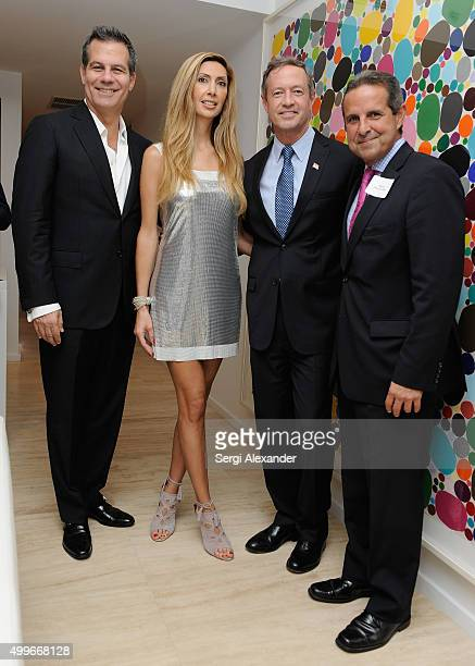 Richard Florida Rana Florida Martin O'Malley and Mayor Manny Diaz attend Governor Martin O'Malley Democratic Party Presidential Candidate Fundraiser...