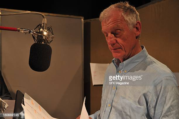 Richard Franklin at the BBC studios recording a Doctor Who audiobook London June 23 2009