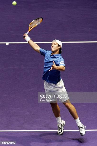 Richard GASQUET France / Roumanie 1er tour Coupe Davis 2007 Clermont Ferrand