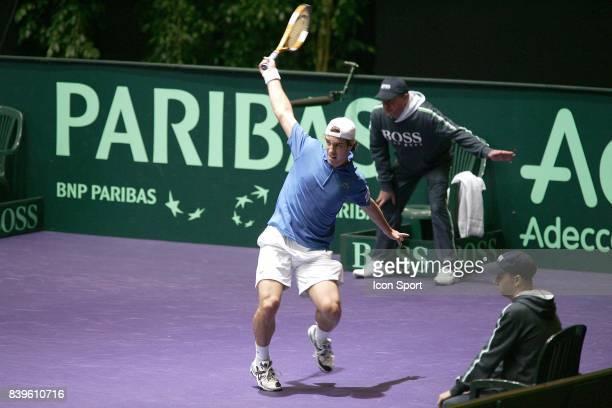 Richard GASQUET France / Roumanie 1er tour Coupe Davis Clermont Ferrand