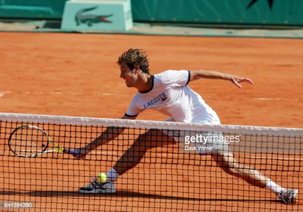 Richard GASQUET Entrainement Roland Garros 2008 Photo Dave Winter / Icon Sport