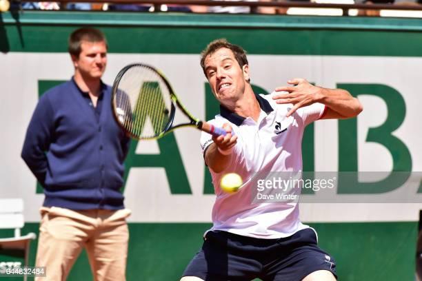 Richard GASQUET Jour 7 Roland Garros 2015 Photo Dave Winter / Icon Sport