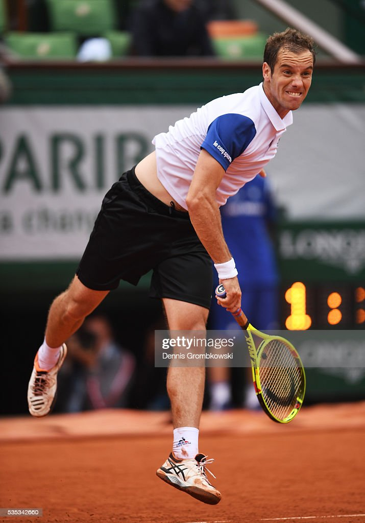 gasquet single men Edit: added another video and expanded on one of my points  the best one- handed backhand of this male tennis generation -- that honor belongs to  to the  backhand side: both wawrinka and gasquet, for all their vaunted backhands, can 't.