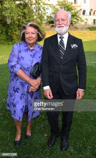 Richard Gaul and his wife Sibylle Zehle seen during the 2017 Henry A Kissinger Prize at the American Academy in Berlin on June 20 2017 in Berlin...