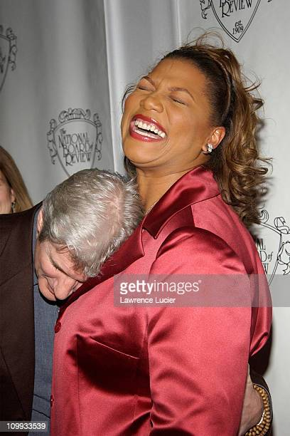 Richard Gere and Queen Latifah during National Board Of Review Of Motion Pictures 2002 Annual Awards Gala at Tavern on the Green in New York New York...