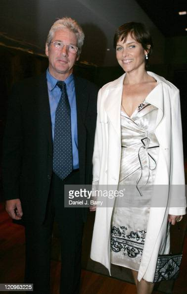 Richard Gere and wife Carey Lowell during 2006 James Parks Morton Interfaith Awards at The Rubin Museum of Art in New York City New York United States