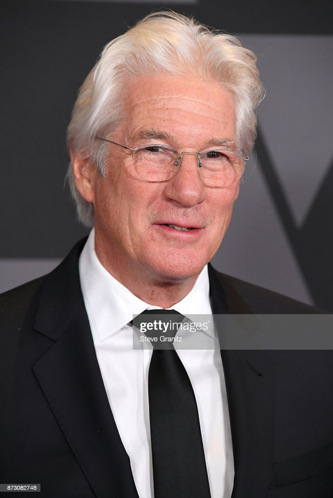 Richard Gere arrives at the Academy Of Motion Picture Arts And Sciences' 9th Annual Governors Awards at The Ray Dolby Ballroom at Hollywood & Highland Center on November 11, 2017 in Hollywood, California.