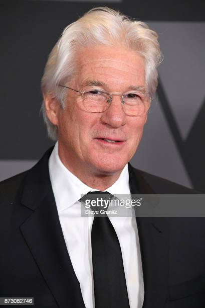 Richard Gere arrives at the Academy Of Motion Picture Arts And Sciences' 9th Annual Governors Awards at The Ray Dolby Ballroom at Hollywood Highland...