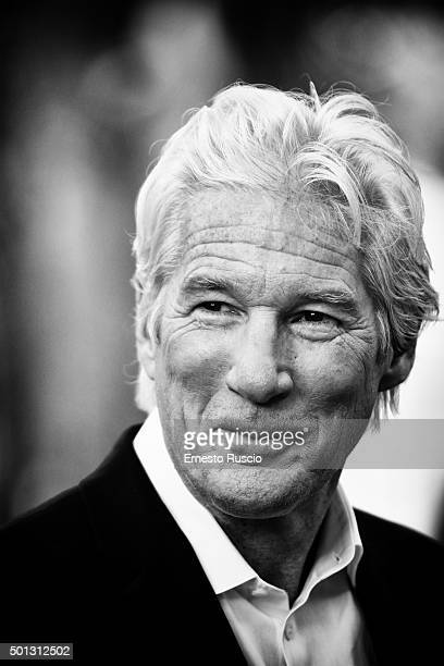 Richard Gere attends a photocall for 'Franny' at La Casa Del Cinema on December 14 2015 in Rome Italy
