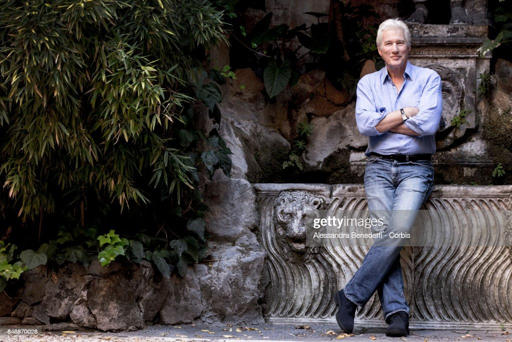 Richard Gere attends 'Norman: The Moderate Rise and Tragic Fall of a New York Fixer' photocall on September 18, 2017 in Rome, Italy.