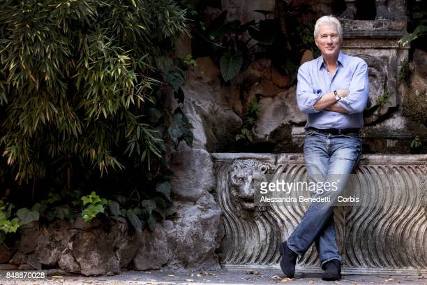 Richard Gere attends 'Norman The Moderate Rise and Tragic Fall of a New York Fixer' photocall on September 18 2017 in Rome Italy