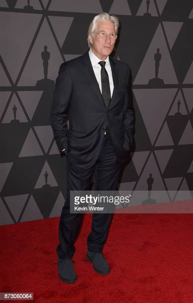 Richard Gere attends the Academy of Motion Picture Arts and Sciences' 9th Annual Governors Awards at The Ray Dolby Ballroom at Hollywood Highland...