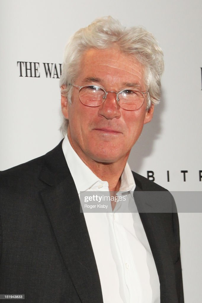 Richard Gere attends the 'Arbitrage' New York Premiere at Walter Reade Theater on September 12, 2012 in New York City.