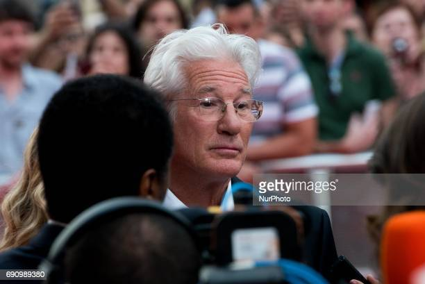 Richard Gere Attends the 'NORMAN' Spanish premiere at Callao Cinema in Madrid on May 31 2017