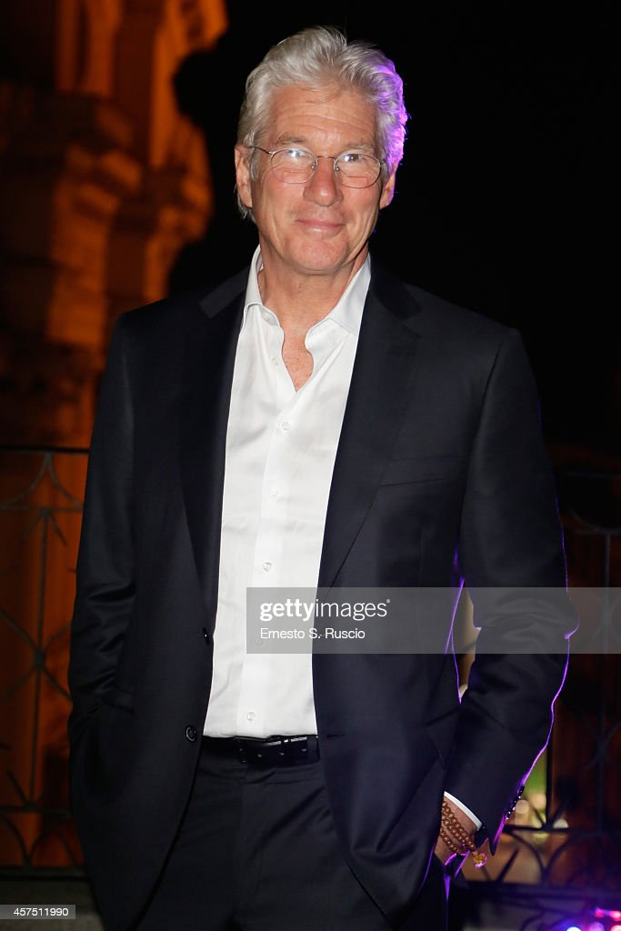 Richard Gere attends the Party Lanterna Di Fuksas during the 9th Rome Film Festival on October 19 2014 in Rome Italy