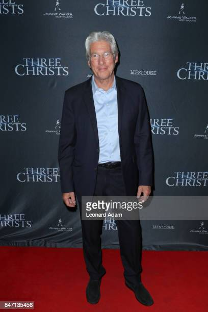 Richard Gere attends the 'Three Christs' premiere party hosted by Johnnie Walker at Westlodge Toronto on September 14 2017 in Toronto Canada