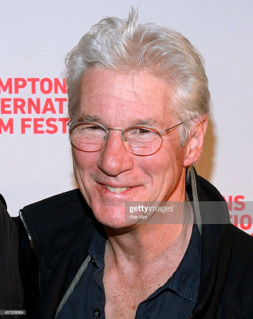 <a gi-track='captionPersonalityLinkClicked' href=/galleries/search?phrase=Richard+Gere&family=editorial&specificpeople=202110 ng-click='$event.stopPropagation()'>Richard Gere</a> attends the 'Time Out of Mind' premiere during the 2014 Hamptons International Film Festival on October 10, 2014 in East Hampton, New York.