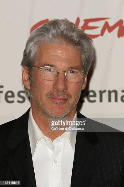 RIchard Gere during 1st Annual Rome Film Festival 'The Hoax' Photocall at Auditorium Parco della Musica in Rome Italy