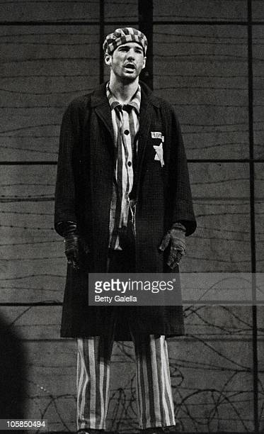 Richard Gere during Play Performance 'Bent' at New Apollo Theatre in New York City New York United States