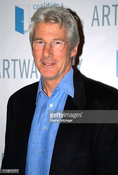 Richard Gere during The 12th Annual Artwalk New York Honoring Julian Schnabel at The Puck Building in New York City New York United States