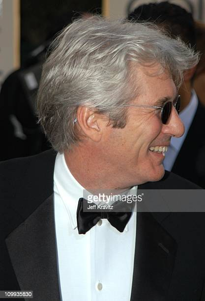 Richard Gere during The 60th Annual Golden Globe Awards Arrivals at Beverly Hilton Hotel in Beverly Hills CA United States