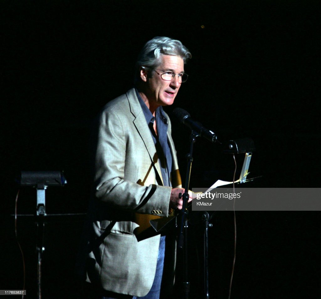 Richard Gere during The ACLU Freedom Concert and After Party at Avery Fisher Hall in New York City, New York, United States.