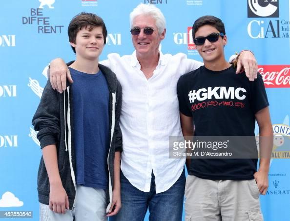Richard Gere his son H...