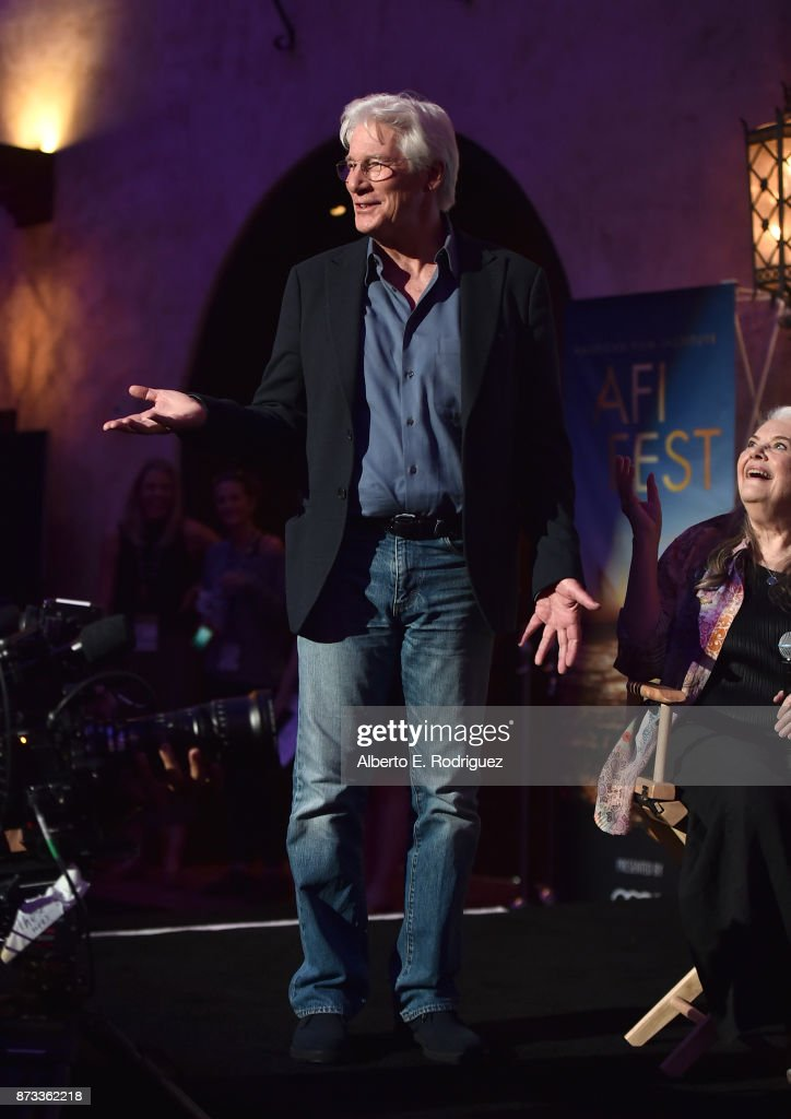 Richard Gere is seen onstage during 'Indie Contenders Roundtable' at AFI FEST 2017 Presented By Audi at Hollywood Roosevelt Hotel on November 12, 2017 in Hollywood, California.
