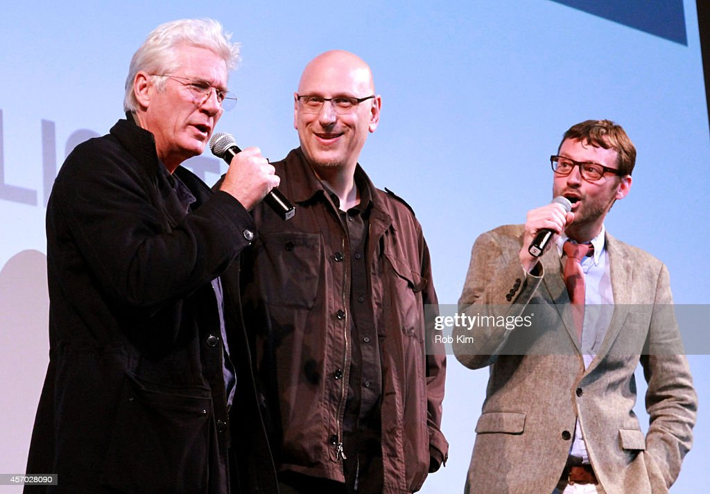 <a gi-track='captionPersonalityLinkClicked' href=/galleries/search?phrase=Richard+Gere&family=editorial&specificpeople=202110 ng-click='$event.stopPropagation()'>Richard Gere</a>, <a gi-track='captionPersonalityLinkClicked' href=/galleries/search?phrase=Oren+Moverman&family=editorial&specificpeople=5671130 ng-click='$event.stopPropagation()'>Oren Moverman</a> and <a gi-track='captionPersonalityLinkClicked' href=/galleries/search?phrase=David+Nugent+-+Artistic+Director&family=editorial&specificpeople=15104918 ng-click='$event.stopPropagation()'>David Nugent</a> speak at the 'Time Out of Mind' premiere during the 2014 Hamptons International Film Festival on October 10, 2014 in East Hampton, New York.