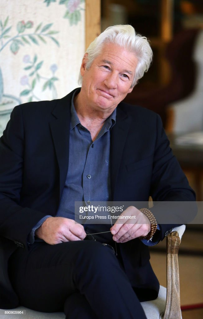 Richard Gere Photo Session In Madrid - December 12, 2017