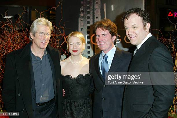 Richard Gere Renee Zellweger director / choreographer Rob Marshall and John C Reilly