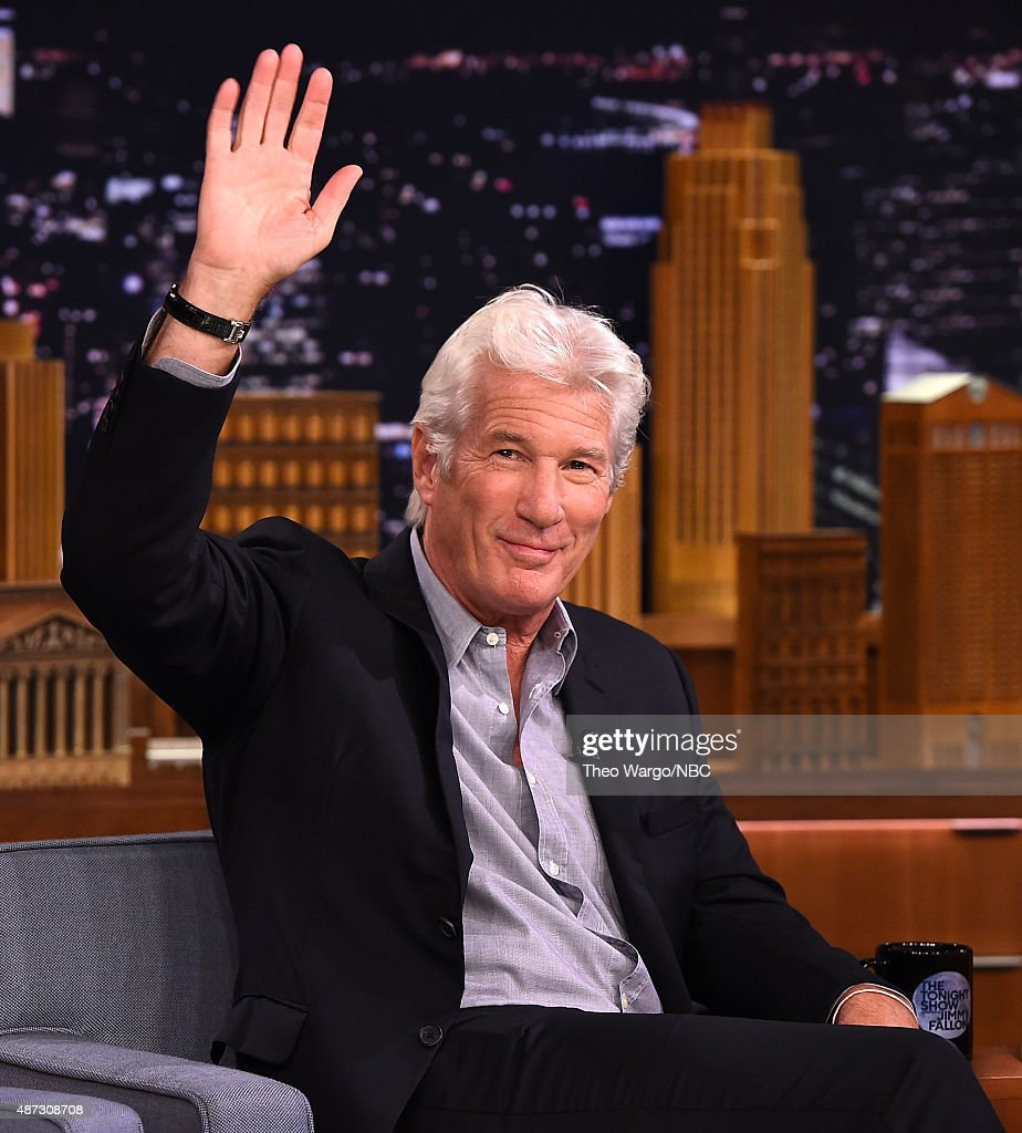 "Richard Gere Visits ""The Tonight Show Starring Jimmy Fallon"""