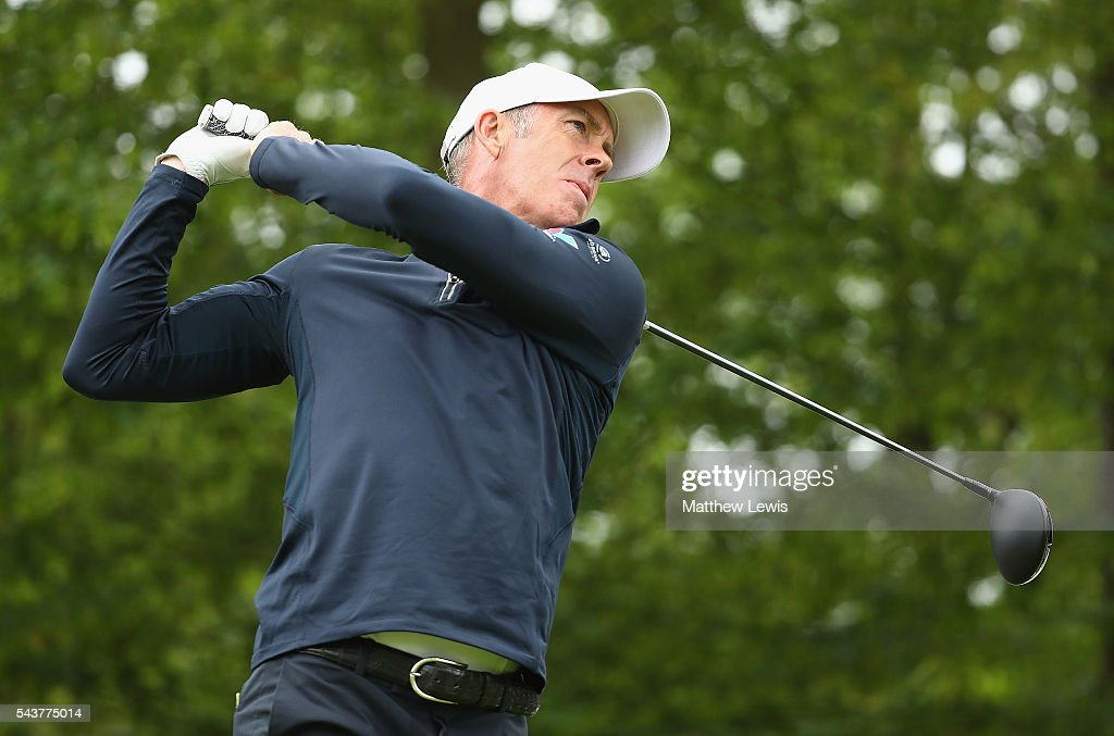 <a gi-track='captionPersonalityLinkClicked' href=/galleries/search?phrase=Richard+Green&family=editorial&specificpeople=210649 ng-click='$event.stopPropagation()'>Richard Green</a> of Australia tees off during day one of the 100th Open de France at Le Golf National on June 30, 2016 in Paris, France.