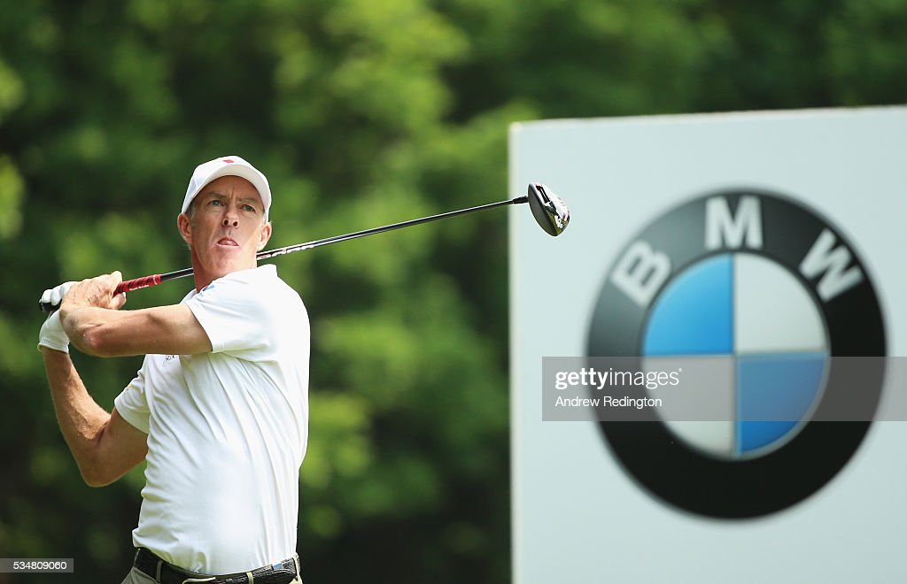<a gi-track='captionPersonalityLinkClicked' href=/galleries/search?phrase=Richard+Green&family=editorial&specificpeople=210649 ng-click='$event.stopPropagation()'>Richard Green</a> of Australia tees off on the 3rd hole during day three of the BMW PGA Championship at Wentworth on May 28, 2016 in Virginia Water, England.