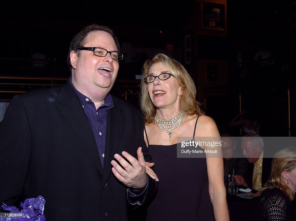 Richard Greenberg (writer) and Jill Clayburgh during 'A Naked Girl on the Appian Way' Broadway Opening Night - Arrivals and After Party at American Airlines Theatre in New York City, New York, United States.