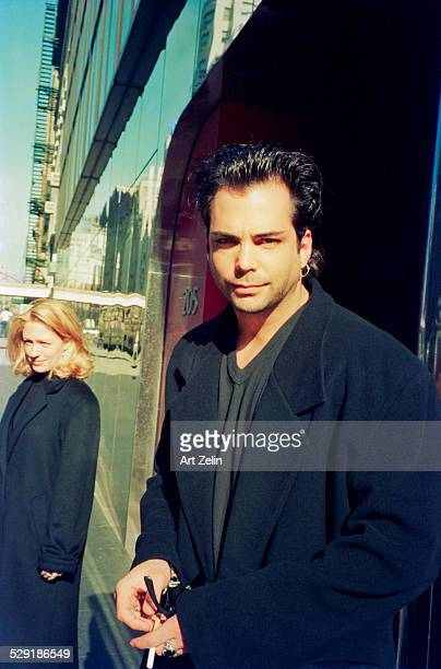 Richard Grieco of 21 Jump Street on the street circa 1990 New York