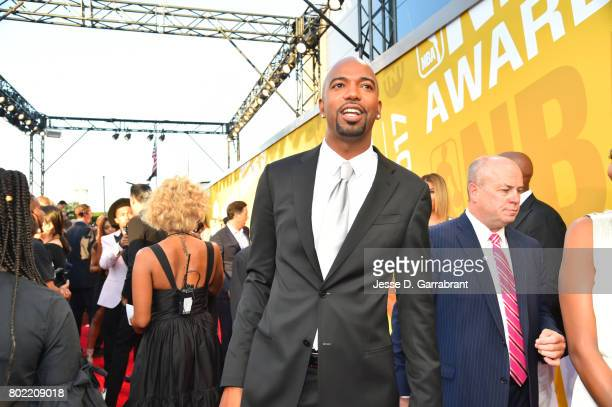 Richard Hamilton arrives on the red carpet during the 2017 NBA Awards Show on June 26 2017 at Basketball City in New York City NOTE TO USER User...