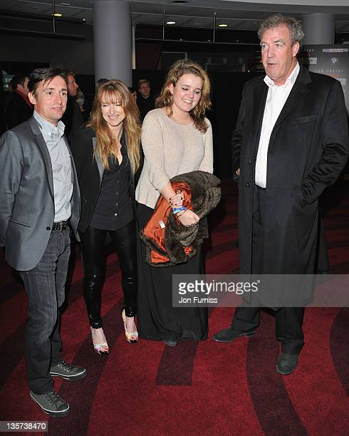 Richard Hammond Amanda Hammond and Jeremy Clarkson arrives at the Mission Impossible Ghost Protocol UK Premiere at BFI IMAX on December 13 2011 in...