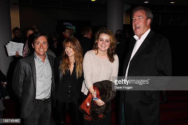 Richard Hammond Amanda Hammond and Jeremy Clarkson attend the UK Premiere of Mission Impossible Ghost Protocol at The BFI IMAX on December 13 2011 in...