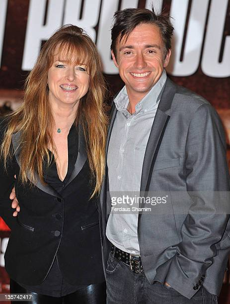 Richard Hammond and Amanda Hammond arrive at the UK premiere of Mission Impossible Ghost Protocol at BFI IMAX on December 13 2011 in London England