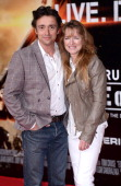 Richard Hammond and Amanda Hammond attend the premiere of 'Edge Of Tomorrow' held at the BFI IMAX on May 28 2014 in London United Kingdom