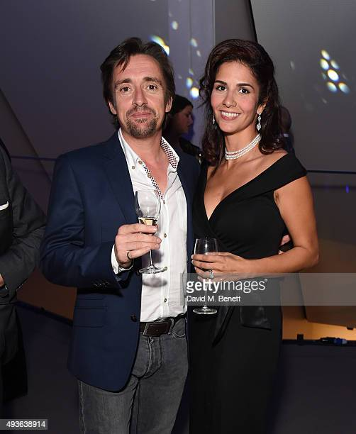 Richard Hammond and Sara Fazlali attend The Secret Me Charity Gala in support of Save The Rhino at The Imperial War Museum on October 21 2015 in...