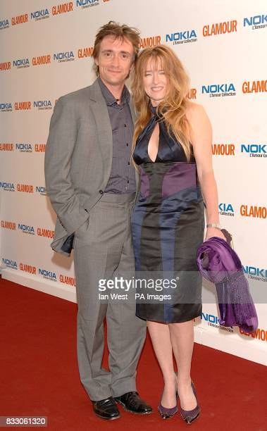 Richard Hammond and wife Amanda arrive for the 2007 Glamour Women of The Year awards at Berkley Square Gardens central London