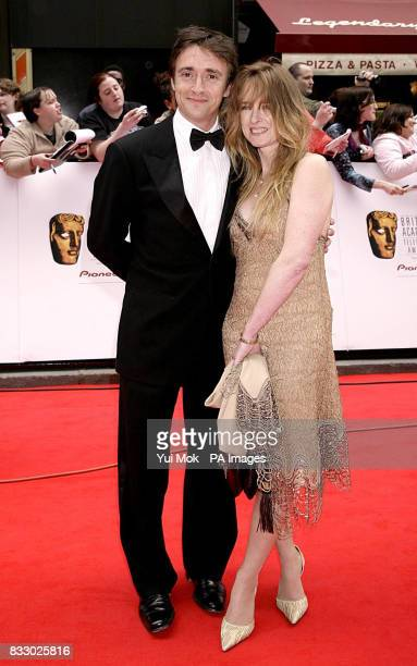 Richard Hammond and wife Amanda arrive for the British Academy Television Awards held at the London Palladium central London