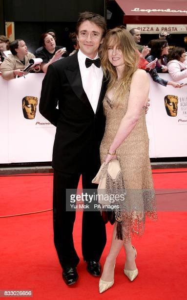 Richard Hammond and wife Amanda arrive for the British Academy Television Awards held at the London Palladium central London PRESS ASSOCIATION Photo...