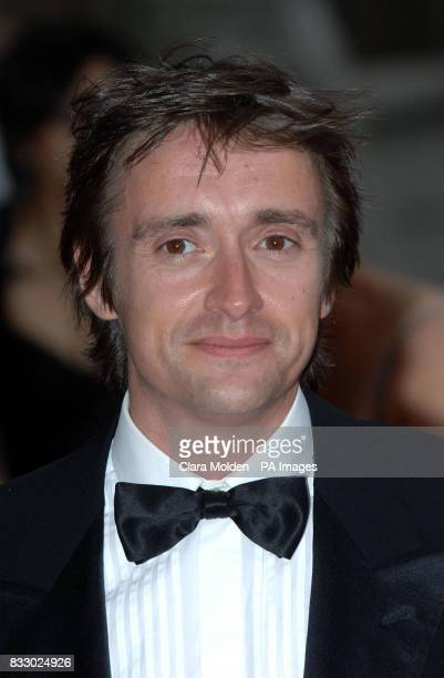 Richard Hammond arrives for charity event The Bedrock Ball at the Natural History Museum in central London