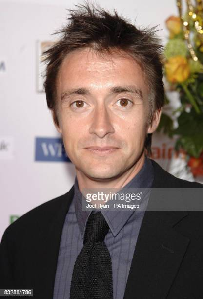 Richard Hammond arrives for the Galaxy British Book Awards 2007 at the Grosvenor House Hotel in central London