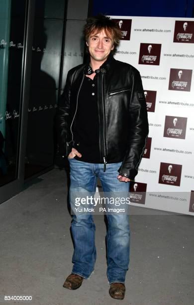 Richard Hammond arrives for the Led Zeppelin tribute concert to Ahmet Ertegun at the 02 in Greenwich London